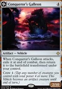 Conqueror's Galleon, Magic: The Gathering, Ixalan