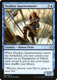 Deadeye Quartermaster, Magic: The Gathering, Ixalan