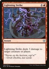 Lightning Strike, Magic, Ixalan