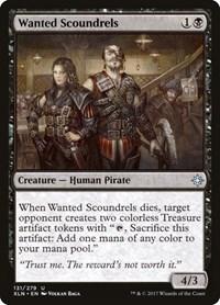 Wanted Scoundrels, Magic: The Gathering, Ixalan