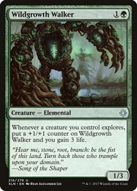 Wildgrowth Walker, Magic: The Gathering, Ixalan