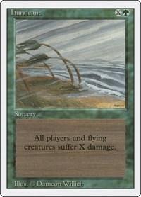 Hurricane, Magic: The Gathering, Revised Edition