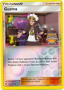 Guzma - 115/147 (League Promo), Pokemon, League & Championship Cards