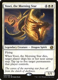 Yosei, the Morning Star, Magic: The Gathering, Iconic Masters