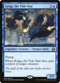 Keiga, the Tide Star, Magic: The Gathering, Iconic Masters