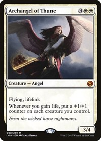 Archangel of Thune, Magic: The Gathering, Iconic Masters
