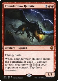 Thundermaw Hellkite (Foil)