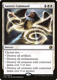 Austere Command, Magic, Iconic Masters