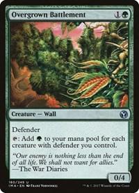 Overgrown Battlement, Magic: The Gathering, Iconic Masters