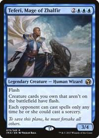 Teferi, Mage of Zhalfir, Magic: The Gathering, Iconic Masters