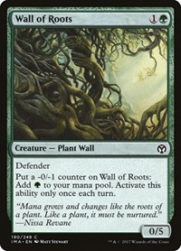 Wall of Roots, Magic: The Gathering, Iconic Masters