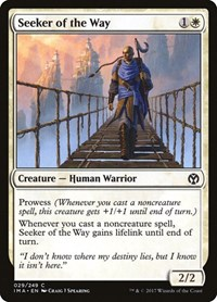Seeker of the Way, Magic: The Gathering, Iconic Masters