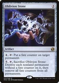 Oblivion Stone, Magic: The Gathering, Iconic Masters