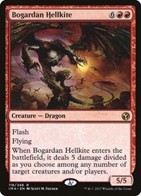 Bogardan Hellkite, Magic: The Gathering, Iconic Masters