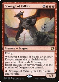 Scourge of Valkas, Magic: The Gathering, Iconic Masters