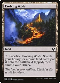 Evolving Wilds, Magic: The Gathering, Iconic Masters