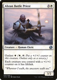 Abzan Battle Priest, Magic, Iconic Masters