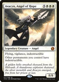 Avacyn, Angel of Hope, Magic: The Gathering, Iconic Masters