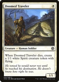 Doomed Traveler, Magic, Iconic Masters