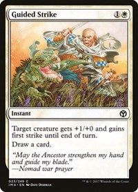 Guided Strike, Magic, Iconic Masters