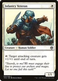 Infantry Veteran, Magic: The Gathering, Iconic Masters