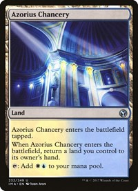Azorius Chancery, Magic: The Gathering, Iconic Masters