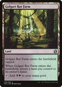 Golgari Rot Farm, Magic: The Gathering, Iconic Masters