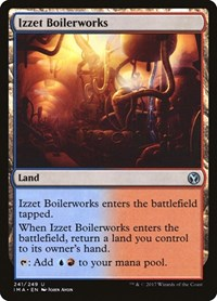 Izzet Boilerworks, Magic: The Gathering, Iconic Masters