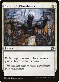 Swords to Plowshares, Magic: The Gathering, Iconic Masters