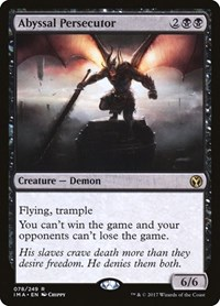 Abyssal Persecutor, Magic, Iconic Masters