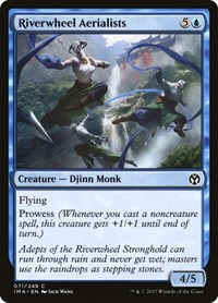 Riverwheel Aerialists, Magic: The Gathering, Iconic Masters