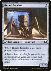 Runed Servitor, Magic: The Gathering, Iconic Masters