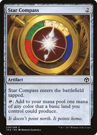 Star Compass, Magic: The Gathering, Iconic Masters