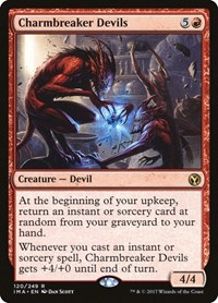Charmbreaker Devils, Magic: The Gathering, Iconic Masters