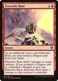 Draconic Roar, Magic, Iconic Masters