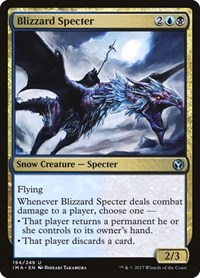 Blizzard Specter, Magic: The Gathering, Iconic Masters