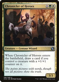 Chronicler of Heroes, Magic: The Gathering, Iconic Masters