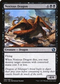 Noxious Dragon, Magic, Iconic Masters