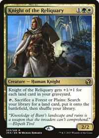 Knight of the Reliquary, Magic: The Gathering, Iconic Masters