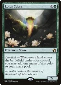 Lotus Cobra, Magic: The Gathering, Iconic Masters