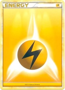 Lightning Energy (2010 Unnumbered HGSS Style Non-Holo), Pokemon, League & Championship Cards
