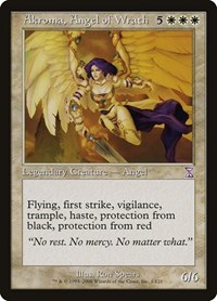Akroma, Angel of Wrath, Magic: The Gathering, Timeshifted