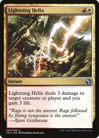 Lightning Helix, Magic: The Gathering, Iconic Masters