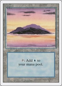 Island (A), Magic: The Gathering, Revised Edition