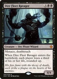 Dire Fleet Ravager, Magic: The Gathering, Ixalan