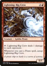 Lightning-Rig Crew, Magic: The Gathering, Ixalan