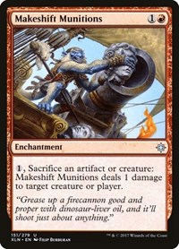 Makeshift Munitions, Magic: The Gathering, Ixalan
