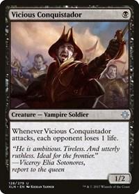 Vicious Conquistador, Magic: The Gathering, Ixalan