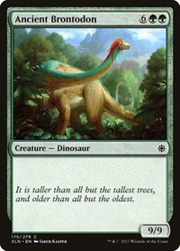 Ancient Brontodon, Magic: The Gathering, Ixalan