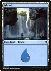 Island (264), Magic: The Gathering, Ixalan